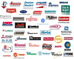 HVAC brands we work with